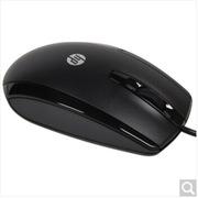 惠普 X500 有线鼠标(E5C12AA) 线长2米,手感舒适 黑色
