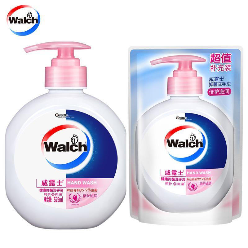 威露士  健康抑菌洗手液(倍護滋潤) 525ml+250ml組合裝