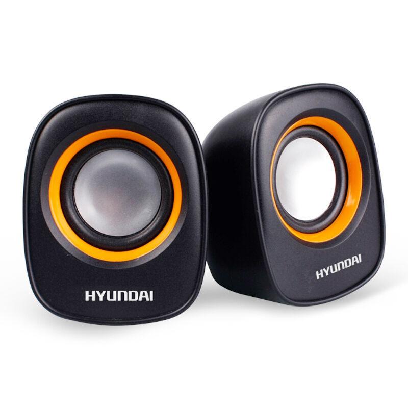 现代 HY-66T 笔记本\电脑USB音箱 2.0声道 黑色