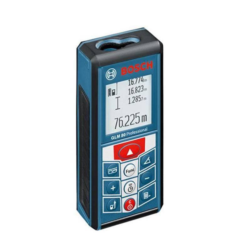 博世 GLM80 锂电池激光测距仪 80米