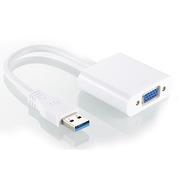 創乘 CD034-W USB3.0轉VGA 外置顯卡   白色 一個
