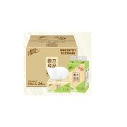 清風 BR83ATO/BR83ATO1 原木純品3層130抽塑包面巾紙小規格 6包/提 4提/箱