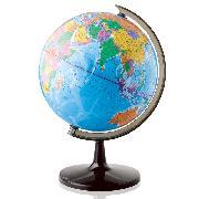 得力 3035 旋转世界地球仪 直径32cm
