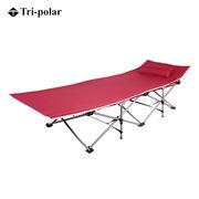 三極 TP1108 折疊床  酒紅色