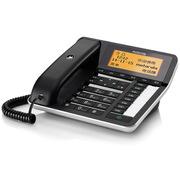 摩托羅拉 CT700C 錄音電話機  黑色 數字有繩電話機