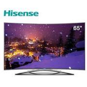 海信 LED65K5510U 液晶电视 4KLED(含NB吊架+辅料人工费) 黑色