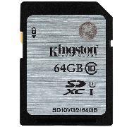 金士顿 SD10VG2/64G 存储卡 SD Class10 UHS-I