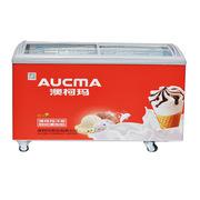 澳柯瑪 SC/SD-338 臥式弧形透明玻璃門冷凍柜雪糕柜