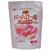 波路夢  迷你蛋糕卷草莓味 70g