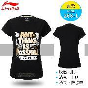 李宁 AHSL268-1 女款短袖 S