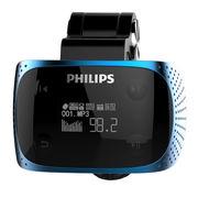 飛利浦 SA1608 車載MP3播放器 8G 藍色