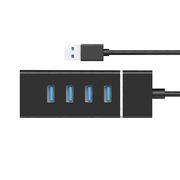 酷比客 LCHB29BK USB3.0 HUB 4口 黑色 適用于U盤,讀卡器,USB鼠標,USB鍵盤,掃描儀,數碼像機,數碼攝像機,USB聲卡等設備