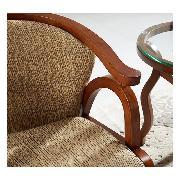 雄牛 XN6082 圈椅 实木材质,椅面靠背软包