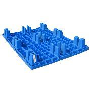 连和 LH-1210 塑料托盘 1200*1000*140MM 蓝色 环保型塑料托盘 超大功能承载