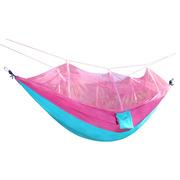 三极 TP1118 防蚊虫轻便携式吊床 260*140cm 桃花粉色