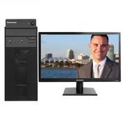 聯想 揚天M4601C 臺式電腦 G4400 4G 500G DVD 23英寸顯示器