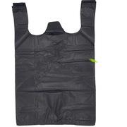 国产  妙美手提式背心垃圾袋 宽32+折边6.5*2