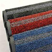 爱柯部落  洁格斯特级刮尘吸水地垫  PVC底 120cm*180cm 红黑色