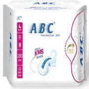 ABC  夜用纤薄棉柔卫生巾 280mm*8片