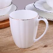 锦  骨瓷品味水杯 13*9*9.5cm