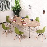 椅统天下 GM-01 钢木会议桌 3800X750X1500