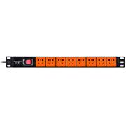 包爾星克 MPDU18EN0030 包爾星克 PDU 八口 電源插座(新)3米  黑橙色