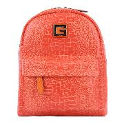 GUESS GSBU6673401CLI CROCO小號雙肩背包 250*280*150mm 橙色