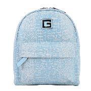 GUESS GSBU6673401BLU CROCO小號雙肩背包 250*280*150mm 藍色