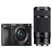 索尼 ILCE-6000L/a6000双头套机(16-50+55-210mm) 微单数码相机