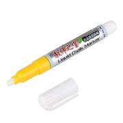 金万年 G-0624-006 可加墨水无尘液体粉笔 1.5-3mm 黄色 10支/盒