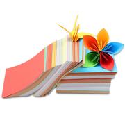 国产  手工折纸 10*10cm 混色 100张/包