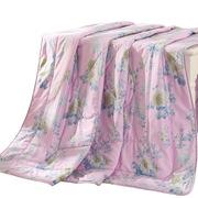 羅萊  LOVO家紡艾莉莎全棉夏被 200*230cm 粉色