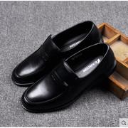 意爾康 90597A-10 防滑軟底軟皮皮鞋  男款