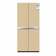 澳柯玛 BCD-390YG 家用4门冰箱十字门 390L