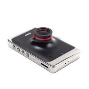 新科 V8 行车记录仪 89mm(长)*57mm(宽)*22mm(高) 黑色 20个/箱,瓦楞纸箱