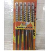宏勝 HS-A7035 201材質不銹鋼筷子 5雙/卡