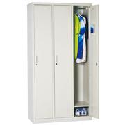 国产 三门更衣 金属/木制储物柜 1800*900*420mm