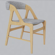 国产  椅子 纯实木结构