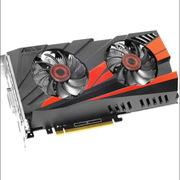 华硕 GTX1060-O3G-SI 显卡  红黑色