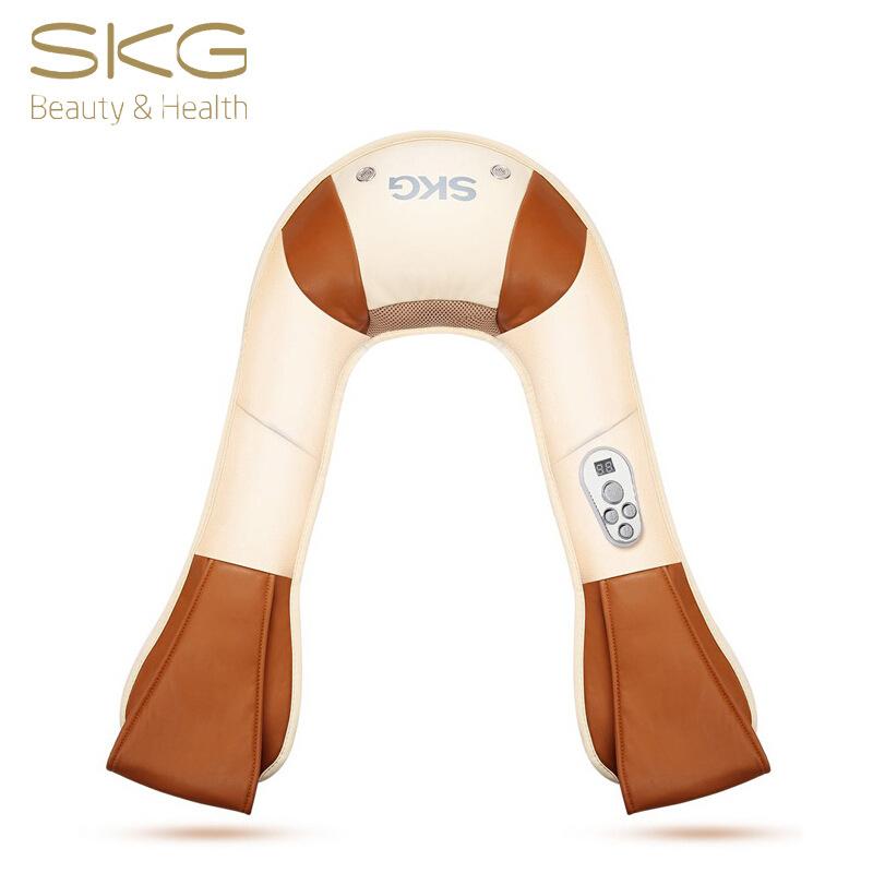 SKG 4095 肩頸按摩器按摩披肩頸椎加熱按摩家用捶打多功能敲敲樂 約92W