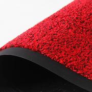 丽施美  超洁吸水吸油地垫 四面有边 10mm*90cm*120cm 红黑色