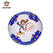 大嘴猴 PKY5011A 3#机缝足球 直径:18CM 蓝色