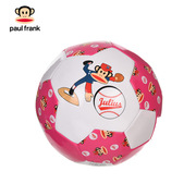 大嘴猴 PKY5011B 3#机缝足球 直径:18CM 粉红色