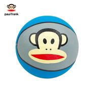 大嘴猴 PKY5014A 3#橡胶篮球 直径:18CM 蓝色