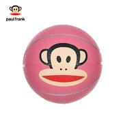 大嘴猴 PKY5014B 3#橡胶篮球 直径:18CM 粉色