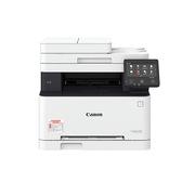 佳能 MF633CDW 彩色激光三合一多功能一体机  白色  (A4,彩色打印,彩色扫描,彩色复印,双面,无线,单面带输稿器)