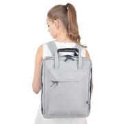 三極 TP1939 旅行包戶外運動背包 旅行行李背包 學生雙肩包書包 39*29*14cm 淺灰色