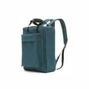 三极 TP1939 旅行包户外运动背包 旅行行李背包 学生双肩包书包 39*29*14cm 绿蓝色