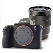 索尼 LICE-7M2 微單套餐    含EF16-35F4蔡司鏡頭+金鋼貼+清潔套裝+SLB濾鏡+16G卡+包