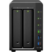 群暉 DS718+ NAS網絡存儲服務器 2盤位 (無內置硬盤)